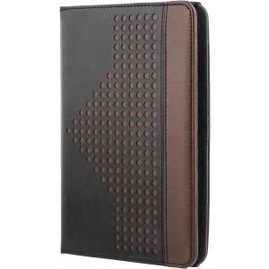 """Fodral  7-8"""" Universal för surfplattor - handgrepp, kreditkortsplats, svart/brun TPF-1206"""