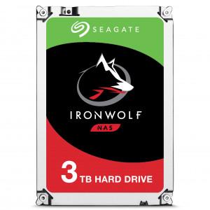 Seagate NAS HDD IronWolf 3TB 3000GB Serial ATA III interna hårddiskar