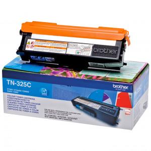 Brother TN-325C Laser cartridge 3500sidor Cyan lasertoners & patroner