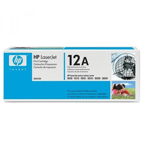 HP Toner Q2612A 2000sid Black (Original) Q2612A