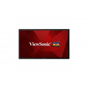 "Viewsonic CDE7500 Digital signage flat panel 75"" LED 4K Ultra HD Svart signage display"