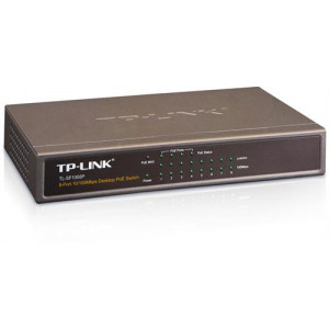TP-LINK Switch 8port 10/100 PoE Bordsmodell TL-SF1008P