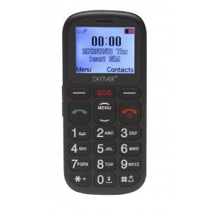Mobiltelefon Denver Seniortelefon Stora knappar