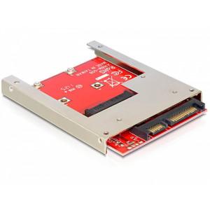 DeLOCK 61892 Intern mSATA nätverkskort/adapters