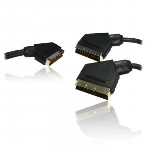 Scart splitter kabel 1 x Scart - 2 x Scart ha-ha SCART-14