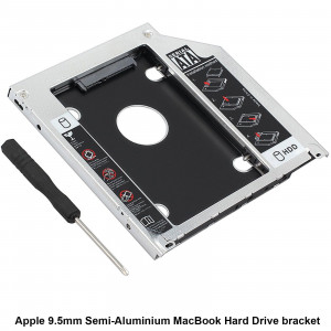 HDD-kabinett i DVD-plats i Macbook Pro iMac Mac