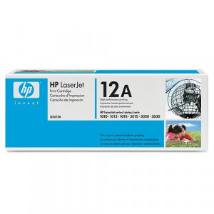 HP Toner Q2612A 2000sid Black (Original) Q2612A