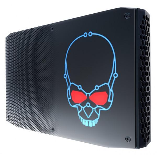 Intel NUC NUC8i7HNK BGA 2270 3,1 GHz i7-8705G 1,2L storlek PC Svart