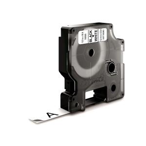 DYMO 12mm D1 Permanent polyester tape D1 etikett-tejp