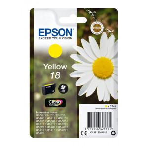 Epson T1804 Yellow 18 Claria (Original)