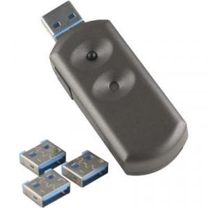 Lås för USB-porten på datorn, 1 nyckel, 4 lås
