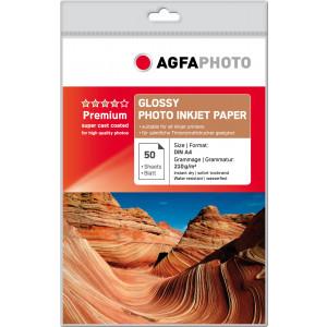 Fotopapper A4 210g Glossy InkJet 50st AP21050A4