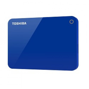 Toshiba Canvio Advance 2TB Blå 2.5 USB
