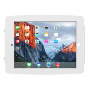 "iPad Pro 10.5"" Secure Space Enclosure Wall Mount White"