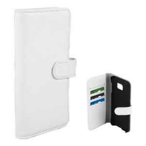 Fodral - Samsung Galaxy S7 Edge Plånboksfodral Vit