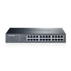 TP-LINK JetStream hanterad L2 Gigabit Ethernet (10/100/1000) Svart