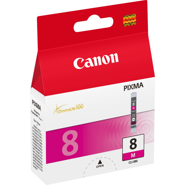 Canon CLI-8M w/Sec Magenta bläckpatroner