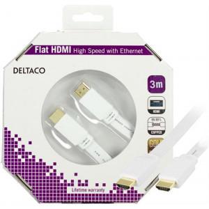 HDMI kabel 4k 3m GOLD FLAT Vit