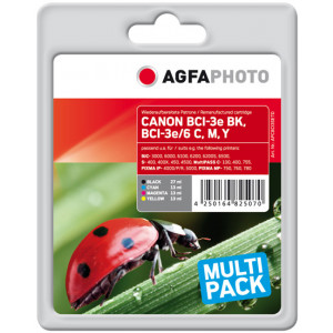 Canon BCI-3 Multipack 2xBK/C/M/Y (AgfaPhoto).