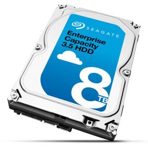 Seagate Enterprise 8TB HDD 8000GB SAS interna hårddiskar