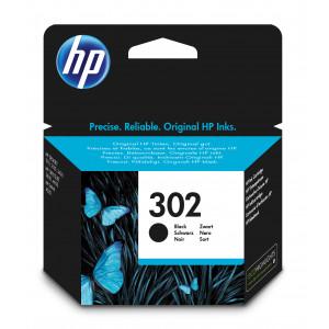 HP 302 svart original bläckpatron