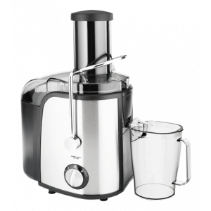 NORDIC HOME CULTURE Råsaftscentrifug Juicepress, 800w, silver/svart