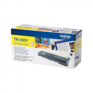 Brother TN-230Y Laser cartridge 1400sidor Gul lasertoners & patroner