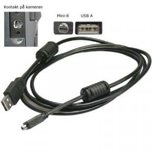 Kabel USB 2.0 A ha - Mini B för bl a Sony