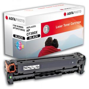 HP Toner 312X CF380X 4400sidor Svart Hög Kapacitet