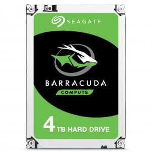 Seagate Barracuda ST4000DM004 HDD 4000GB Serial ATA III interna hårddiskar