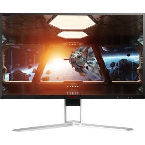 "AOC Gaming AG271QX platta pc-skärmar 68,6 cm (27"") Quad HD LED Platt Svart, Röd"