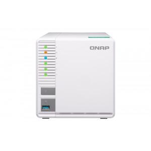 QNAP TS-328 NAS Skrivbord Nätverksansluten (Ethernet) Vit NAS- & lagringsservrar