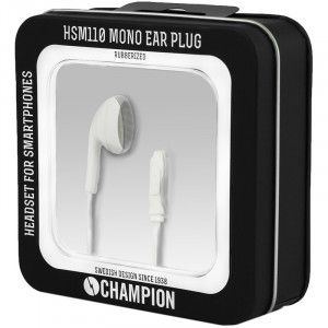 Headset - Ear Plug Pro Mono Champion Vit