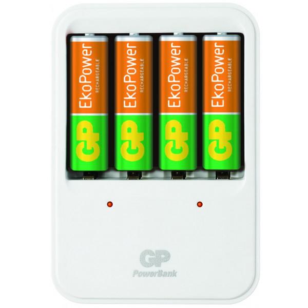 GP Batteries EkoPower PB420 Indoor battery charger Vit