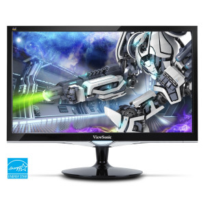 "Datorskärm Viewsonic LED LCD VX2452mh 23.6"" Full HD TFT Svart"