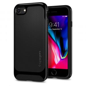 Skal Spigen iPhone 8/7 Case Neo Hybrid Herringbone Black