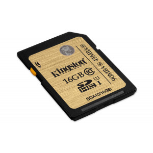 SDHC 16GB Class10 - Kingston UHS-I Ultimate 90Mb/s