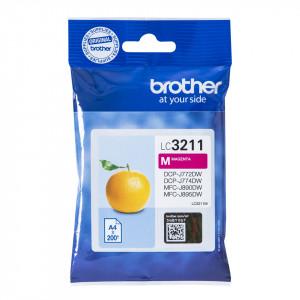 Brother LC-3211M bläckpatroner Magenta 200 sidor