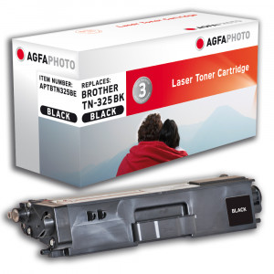 Brother Toner TN-325BK 4000sid Black (AgfaPhoto)