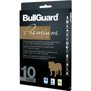 BullGuard Premium Protection 10 användare net2world