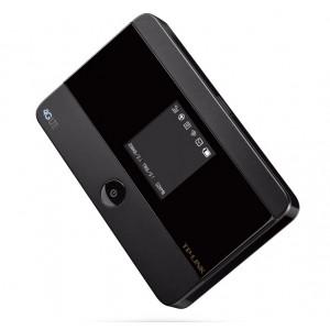 TP-LINK M7350 utrusning för mobila närverk Wi-Fi Svart