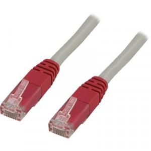 Deltaco X1-TP 1m Grå nätverkskablar