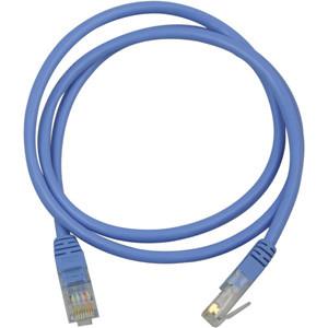 Nätverkskabel Cat5e (0.5m) UTP Blå