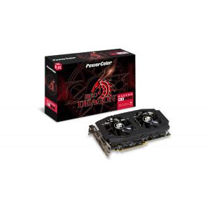 Grafikkort RX580 8GB Powercolor Red Dragon