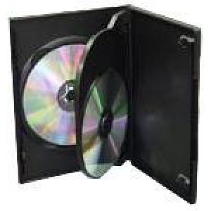 DVD-BOX DVD-56 Hårdplast för 6 skivor (5-pack)