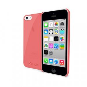 Skal - iPhone 5C - Muvit iMatt Tunt rosa.