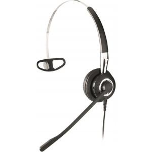 Jabra BIZ 2400 IP 3in1 Mono Öronkrok, Huvudband, Hals-band Svart headset