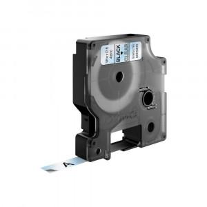 DYMO D1 märktejp 9mm 7m svart/transparent Original