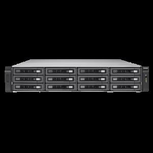 QNAP TES-1885U NAS Rack (2U) Nätverksansluten (Ethernet) Svart