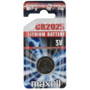 Batteri CR2025 - Maxell Lithium 3V